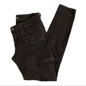 Aritzia TNA Gray Cargo Pants Size 0